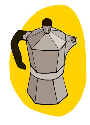 Moka Pot coffee maker