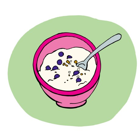 cup of yogurt