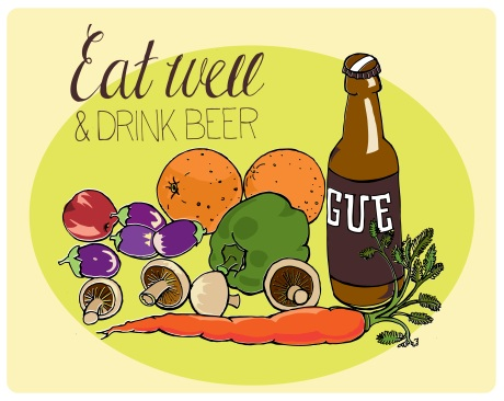eat well & drink beer