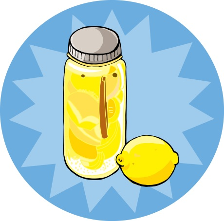 preserved salted lemons