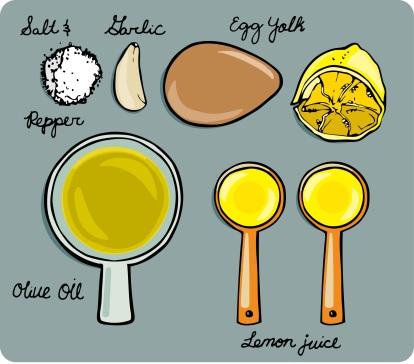 Aioli Ingredients