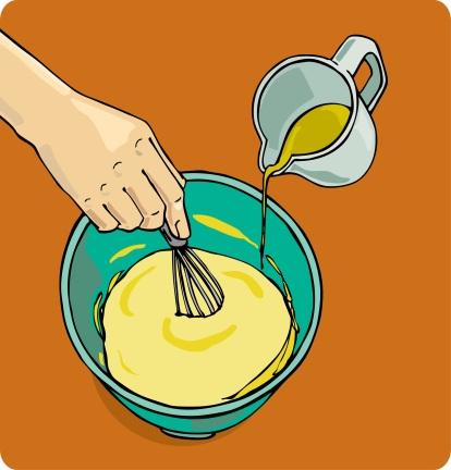 Mix the mayo