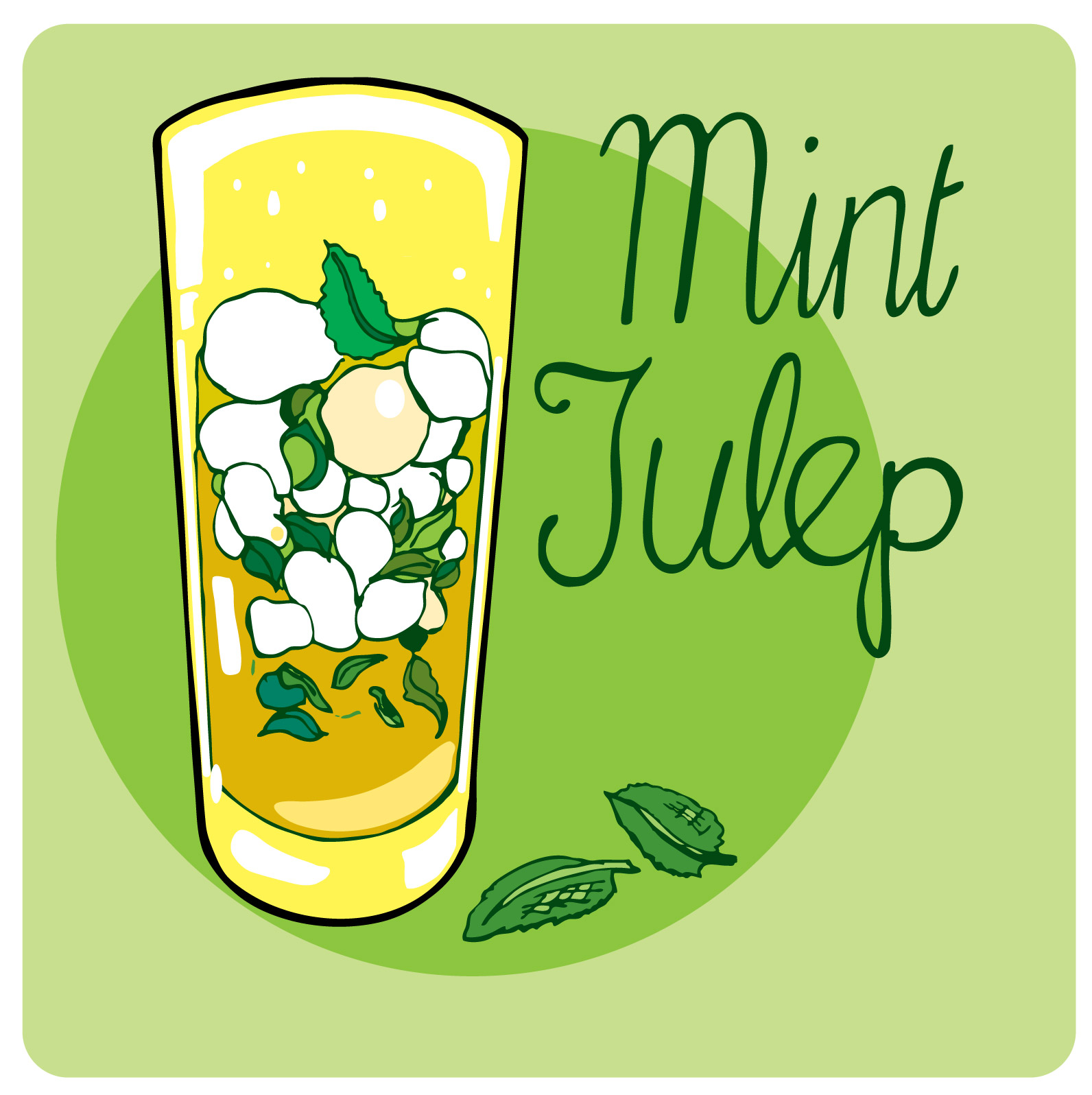 Mint Julep Illustrated Bites