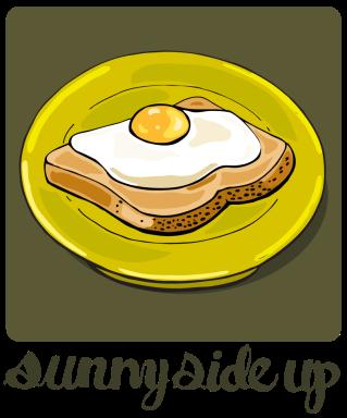 how to cook a sunnyside egg