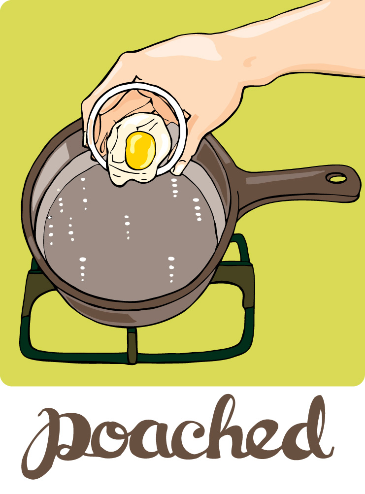 How to poach an egg entertaining dishes pinterest