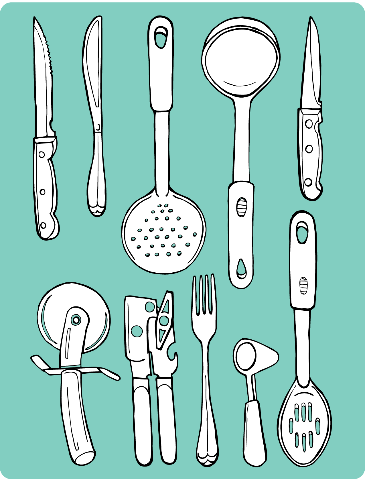 Kitchen Tools  Illustrated Bites
