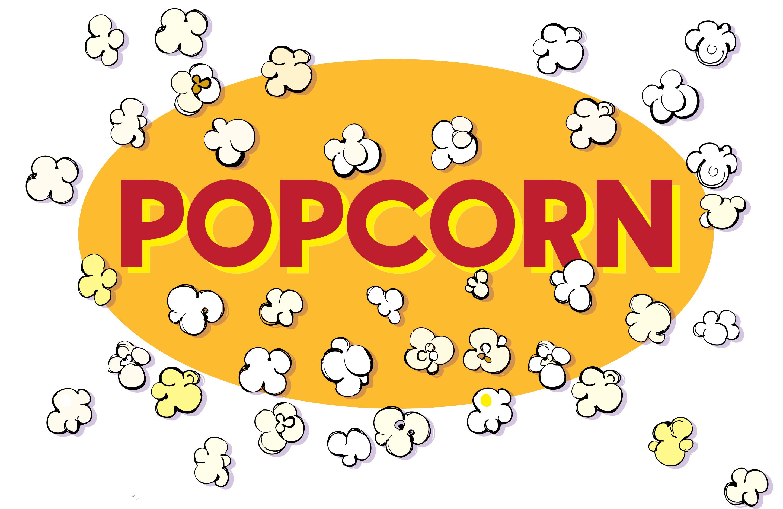 popcorn   Illustrated Bites