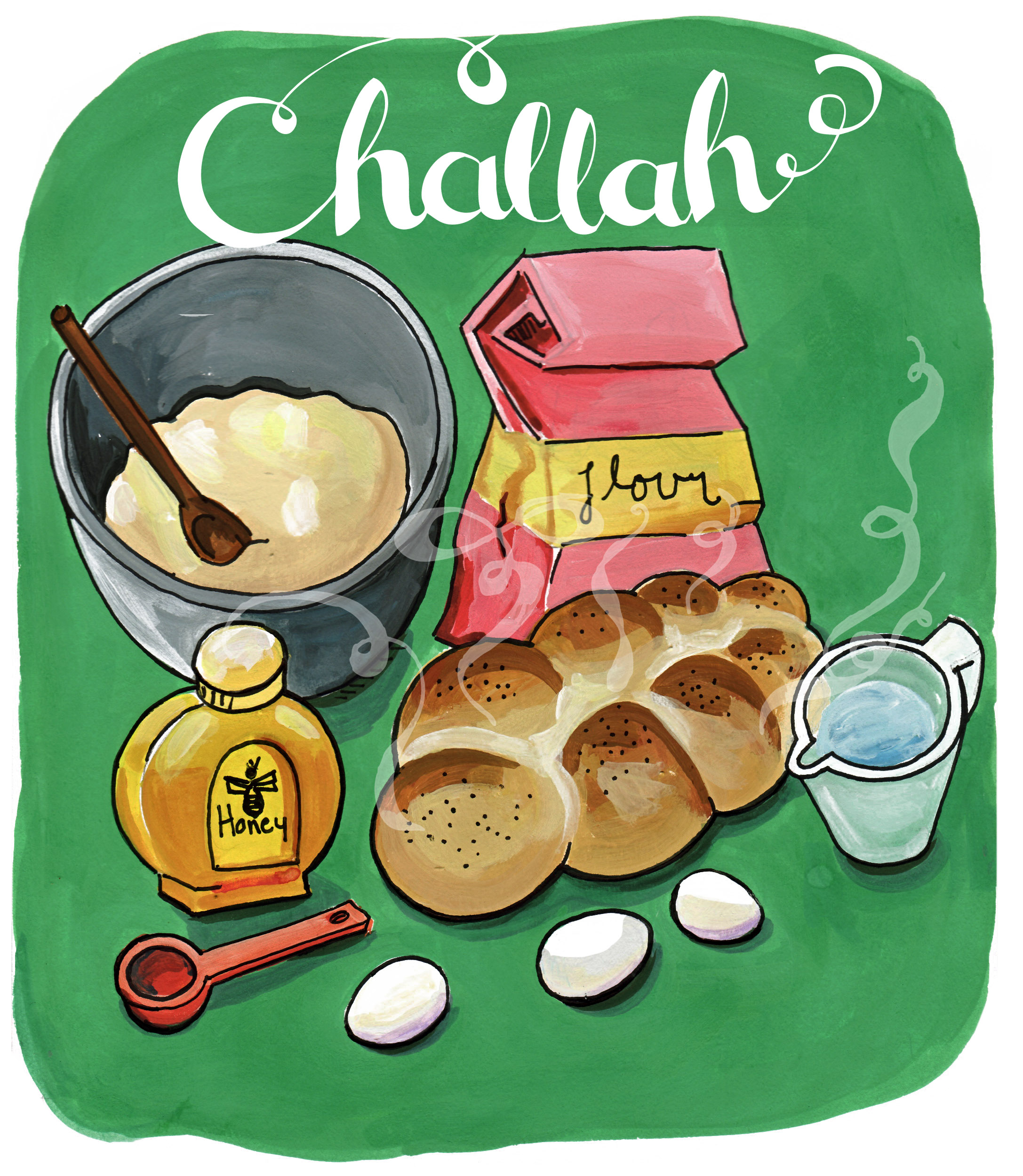 challah | Illustrated Bites
